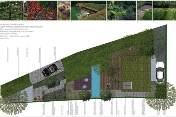 navrh zahrady velke ulany