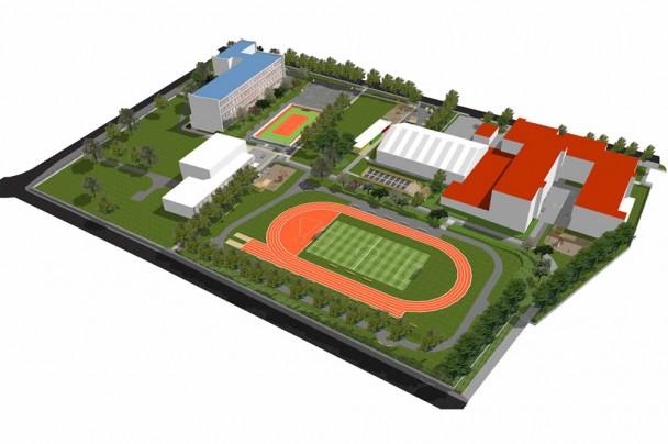 Školský areál športových a voľnočasových aktivít
